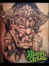 Migs Evil Clown tattoo