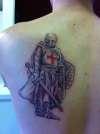 crusader finished tattoo