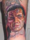Bella Lugosi tattoo