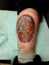Elephant & Mammoth tattoo