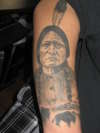 Sitting Bull tattoo
