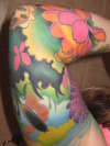 Sleeve by Bez tattoo