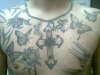 bens cross tattoo