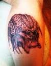 predator tattoo