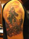 1 of 4 horsemen tattoo