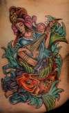 Benzaten final sitting tattoo