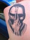 Futurekill HR Giger tattoo
