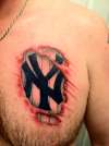 New York Yankees Tattoo tattoo