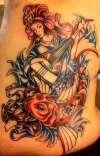 benzaiten second sitting tattoo