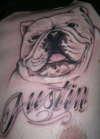 My late boy tattoo