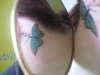 Sleeping Butterfly tattoo
