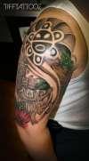 Taino Puerto Rico tattoo