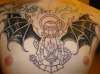 1/2 finished lantern tattoo