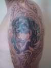 First tattoo Rott head tattoo