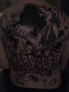 Music tribute tattoo