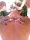 Omnia Causa Fiunt tattoo