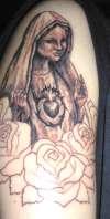 Our Lady of Fatima tattoo
