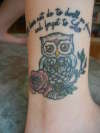 Owl Harry Potter Tattoo tattoo