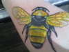 bee tattoo tattoo