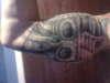 bio- mech skull tattoo