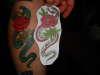 jack dracula flash snake tattoo
