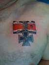 my chest tattoo