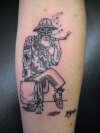trippin tattoo