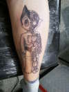 Astro Boy tattoo