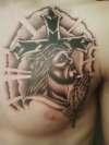 Chest Piece tattoo