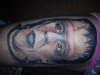 Herman Munster tattoo