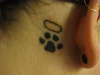 Kitties Paw tattoo