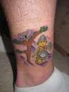 Lego Tattoo tattoo