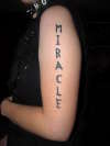 Miracle tattoo