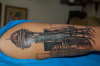 SPACE NEEDLE 1 tattoo