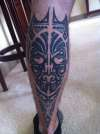 Tribal Calf/Leg tattoo