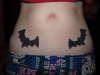 Twin Bats tattoo