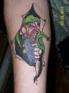 joker inside tattoo