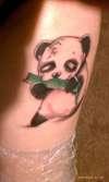 panda. tattoo