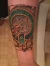 Campbell Clan Crest tattoo