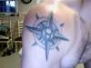 Compass/Taurus tattoo