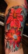 Flower sleeve 2 tattoo