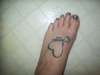 Foot tatt tattoo