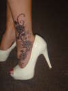 Foot tattoo tattoo