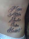 Man After Gods Own Heart tattoo