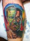 Monster Mash-up tattoo