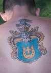 """Polish Family Crest  """"Przedpelski"""" tattoo"""
