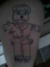 Scare Jew from Family Guy tattoo