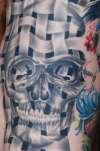 Skull Weave tattoo