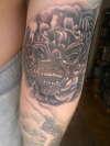 Sleeve in progress. tattoo