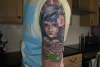 blood tears tattoo